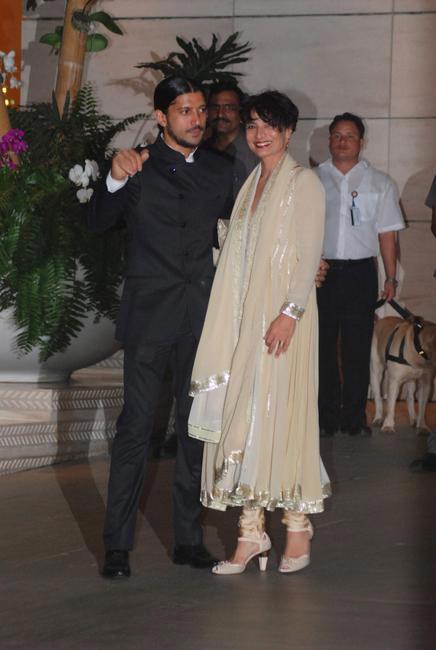 Farhan & Adhuna Akhtar