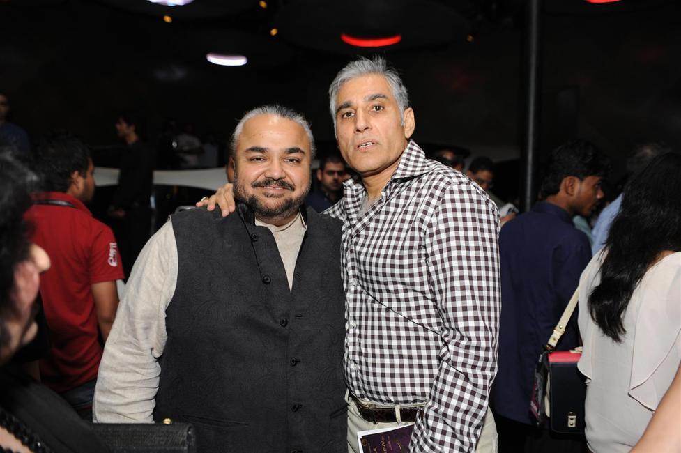 JJ Valaya with Naveen Ansal