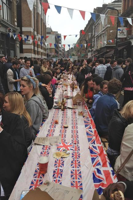 Jubilee Street Party Picture Courtesy Malika Tejura