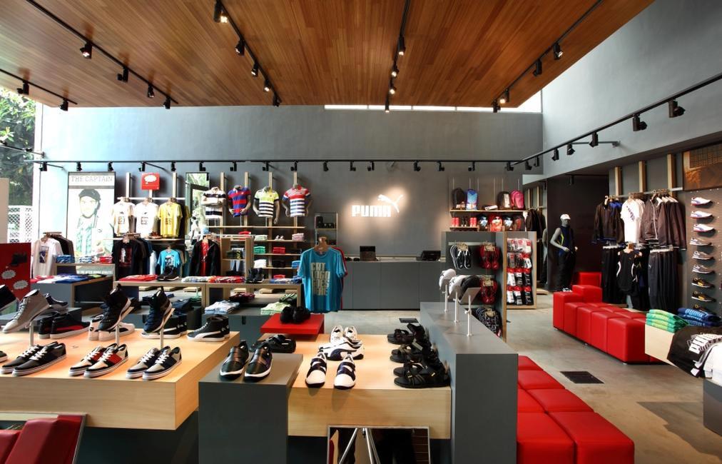 Puma's first sustainable store in Indiranagar, Banga