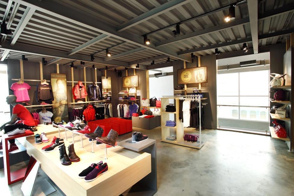 Puma's first sustainable store in Indiranagar, Bangalore