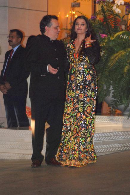 Sandeep Khosla & Aishwarya Rai Bachchan