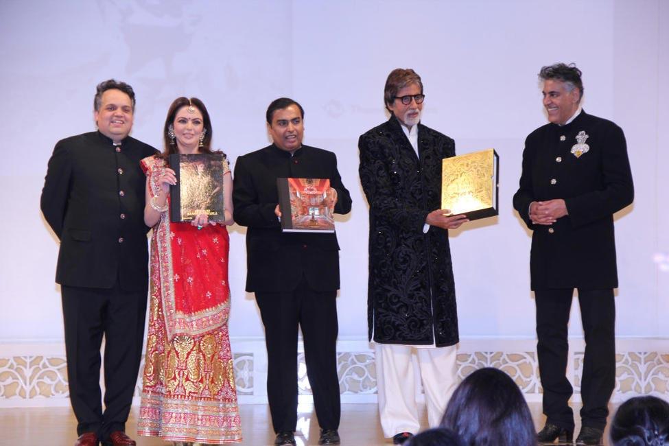 Sandeep Khosla, Nita & Mukesh Ambani, Amitabh Bachchan & Abu Jani