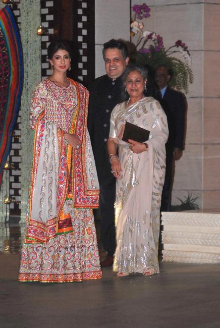 Shweta Nanda, Sandeep Khosla & Jaya Bachchan