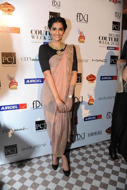 Sonam Kapoor in a Anamika Khanna creation