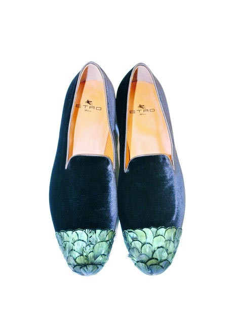 Suede loafers , Etro