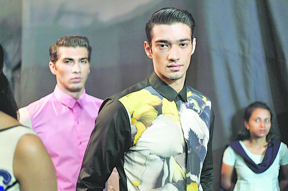 Atsu's menswear and the floral print