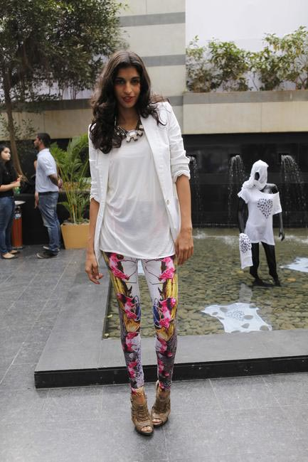 Anushka Manchanda at Lakme Fashion Week SUmmer Resort 2012