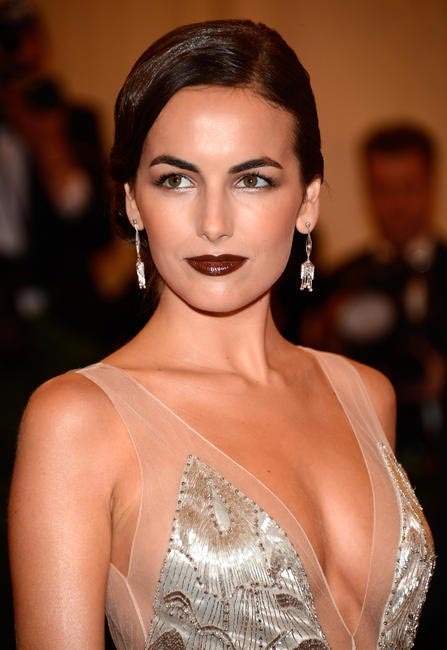 Camilla Belle at the Met gala 2012
