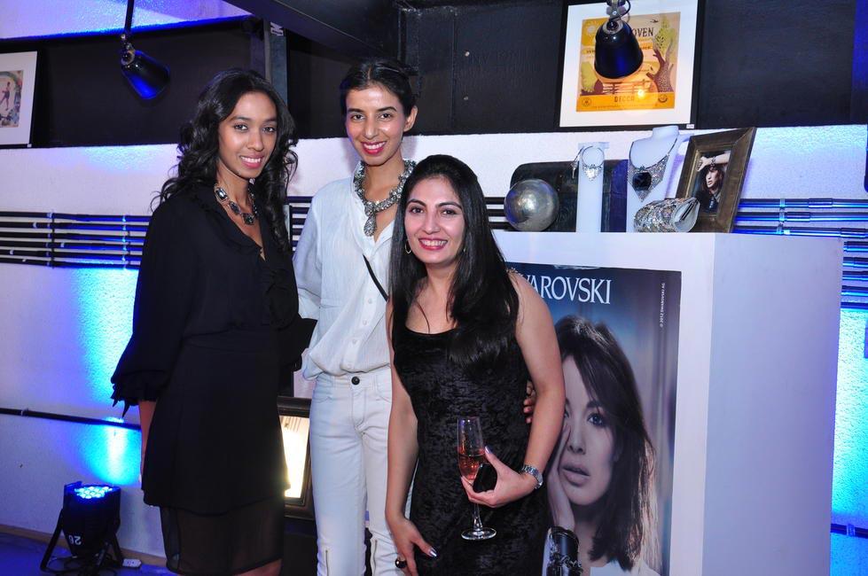 Aalia Al Rufai, Ekta Rajani and Rucita Sharma