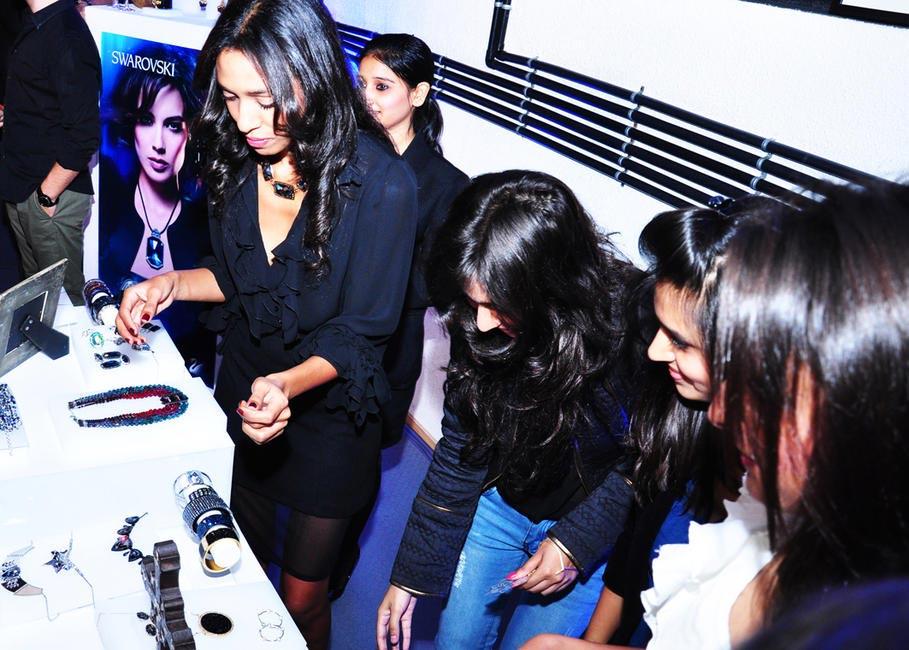 Allia Al Rufai busy styling