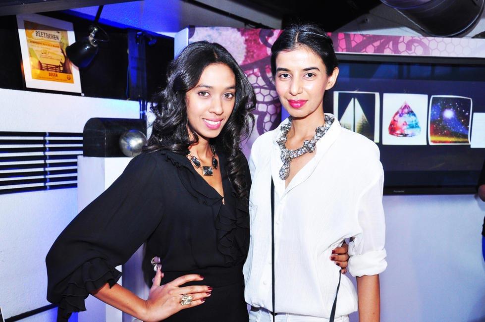 Allia Al Rufai with Ekta Rajani