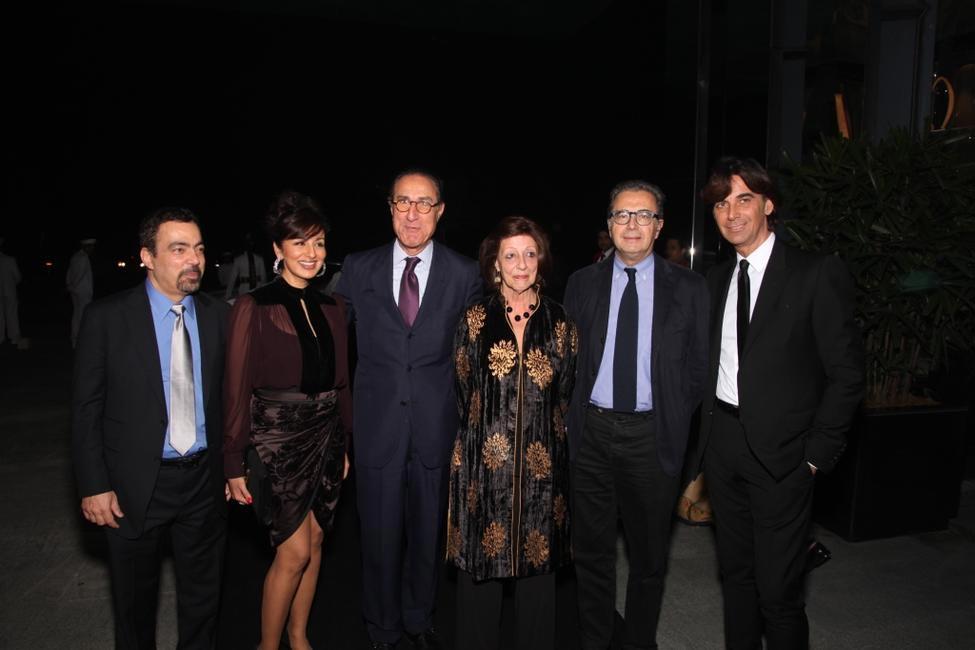 Ashok and Reena Wadhwa, Italian Ambassador with wife, Armando Branchini and Patrizio di Marco