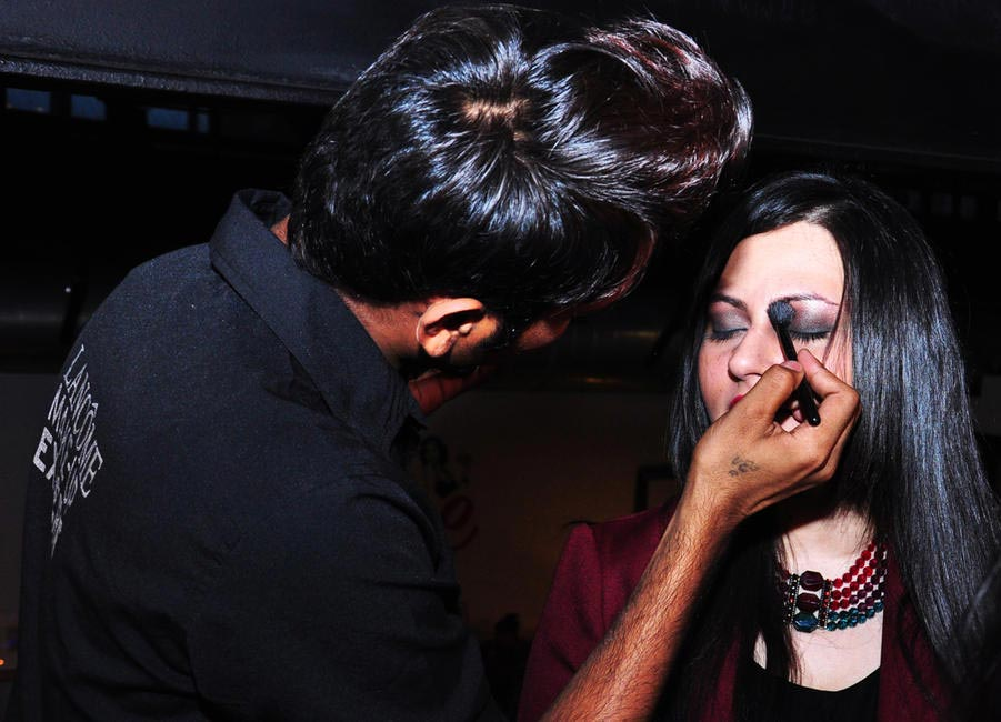 Blogger Anushka Hajale gets make-up done courtesy Lancome