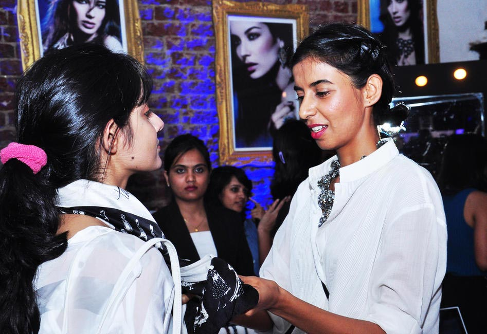 Ekta Rajani busy styling