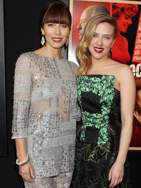 Jessica Biel and Scarlett Johansson, Picture Courtesy