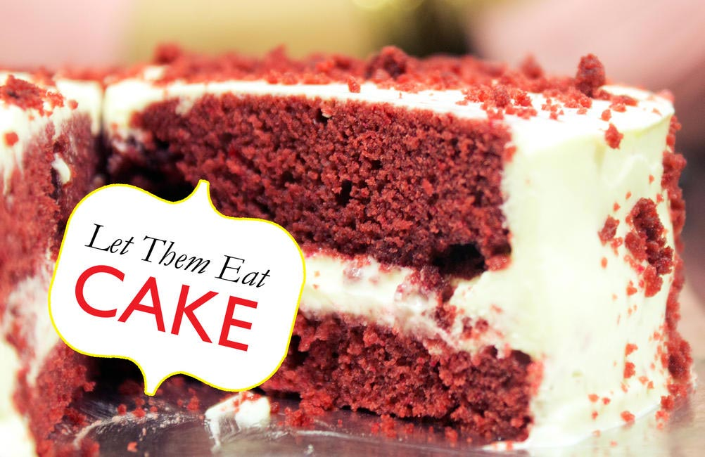 Let them Eat cake, Red Velvet Cheesecake, Picture Courtesy Kumar Jhuremalani