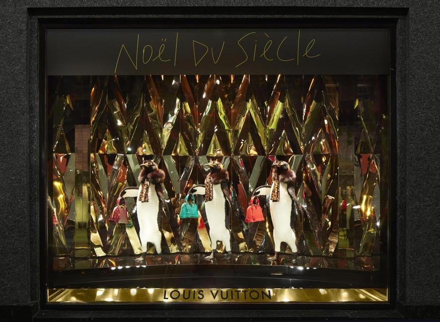 Louis Vuitton Window dislay 4