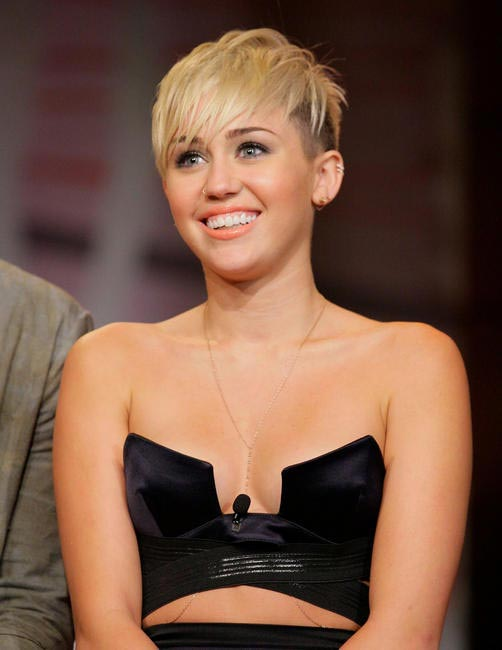 Miley Cyrus, Picture Courtesy The Celebrity City