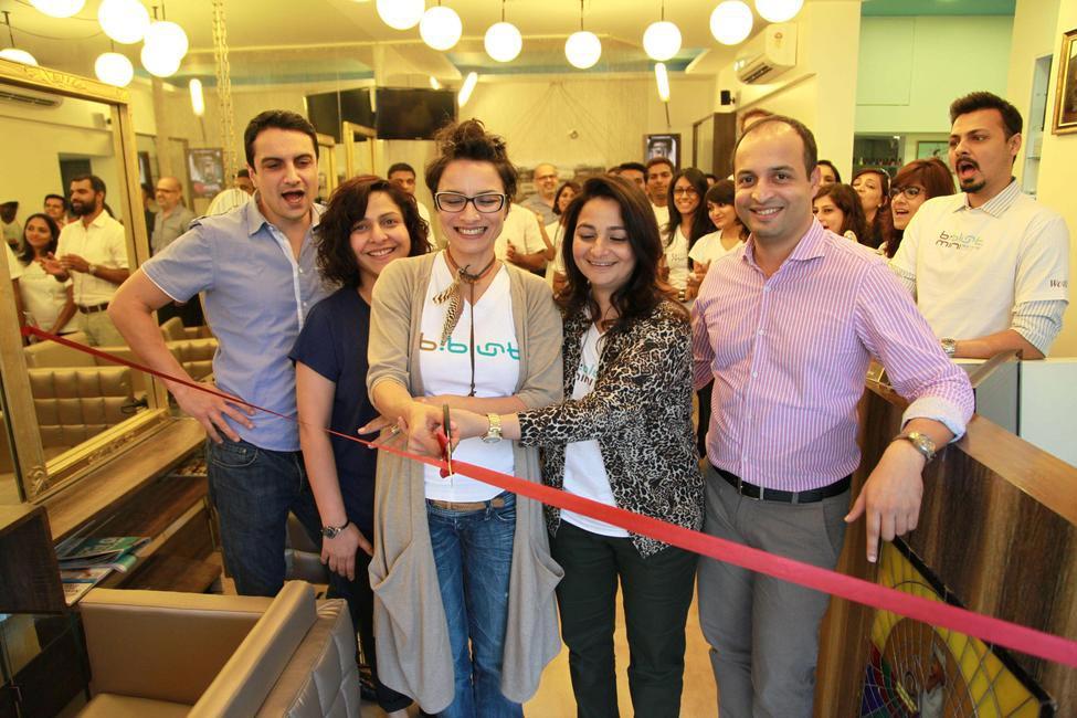 Osh Bhabani, Avan Contractor, Adhuna Bhabani Akhtar, Benaifer Cooper and Satya Thakur at the bblunt mini Worli Launch