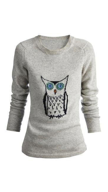 Owl print jumper, Buberry