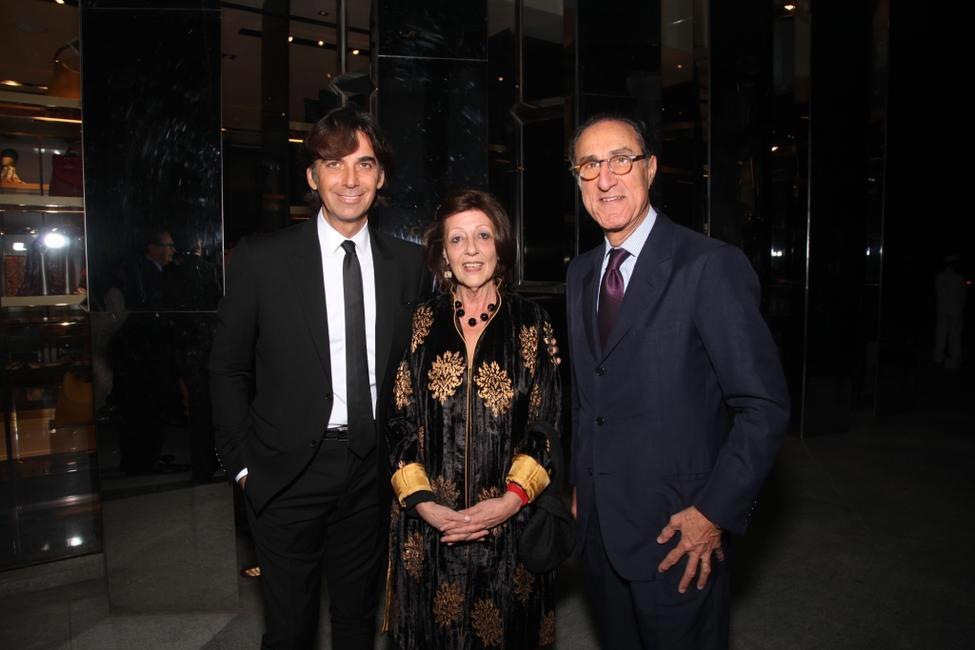 Patrizio di Marco, Italian ambassador with wife