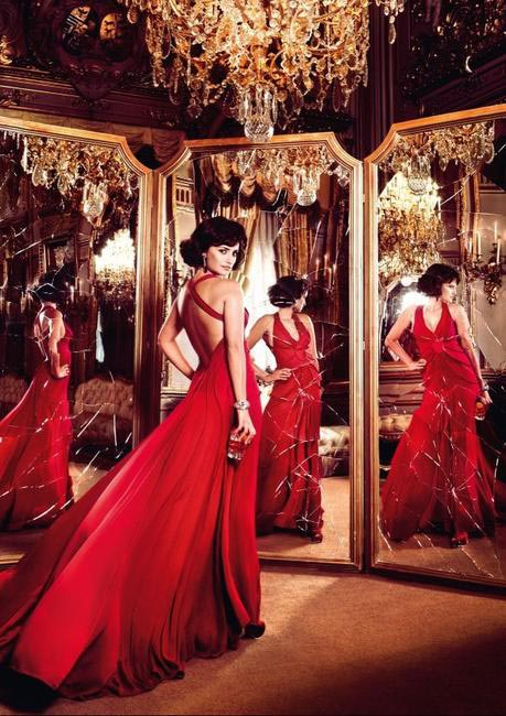 Penelope Cruz, Campari Calendar - Broken Mirrors
