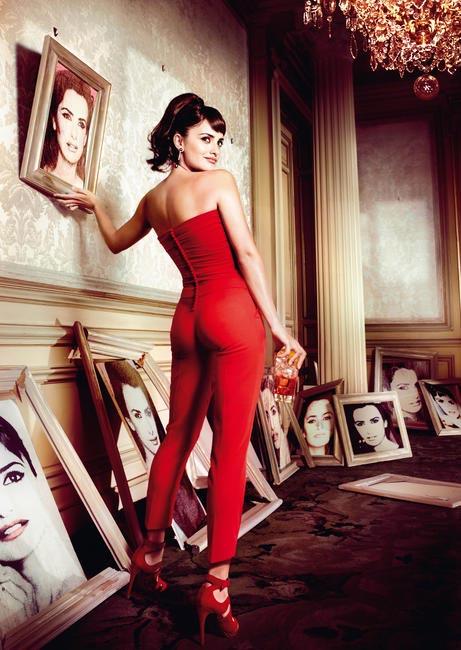 Penelope Cruz, Campari Calendar - Fallen Portraits