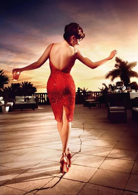 Penelope Cruz, Campari Calendar -  Stepping on Cracks