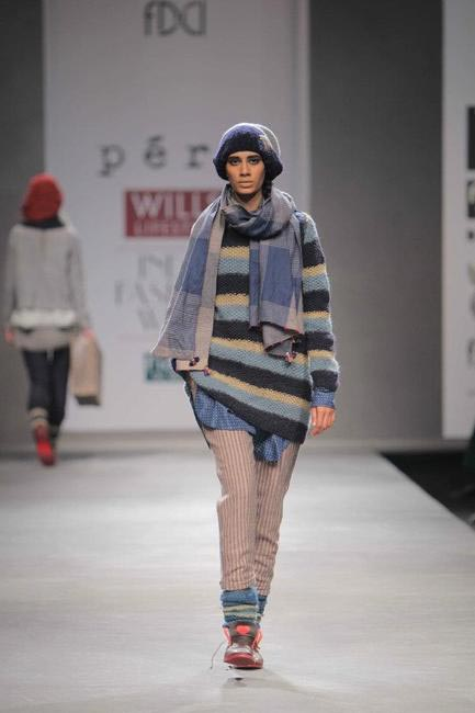 Pero by Aneeth Arora, Autumn Winter 2012, Picture Courtesy Wills Lifestyle India Fashion Week