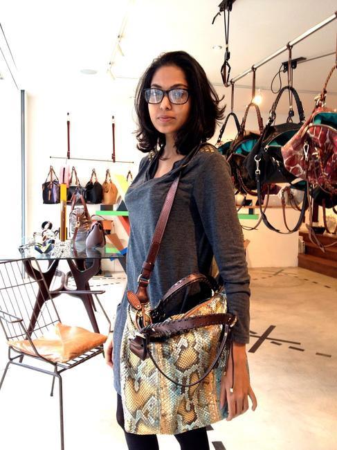 Rhea Verma fashion student