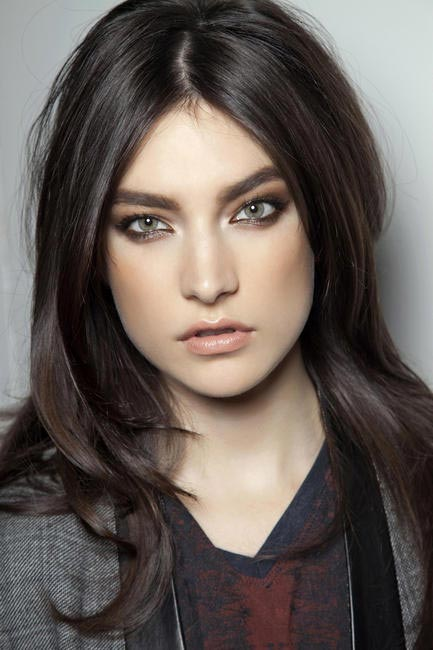 Shiny locks can be yours this winter Blumarine F/W 2012-13 (picture courtesy IMAXTREE)