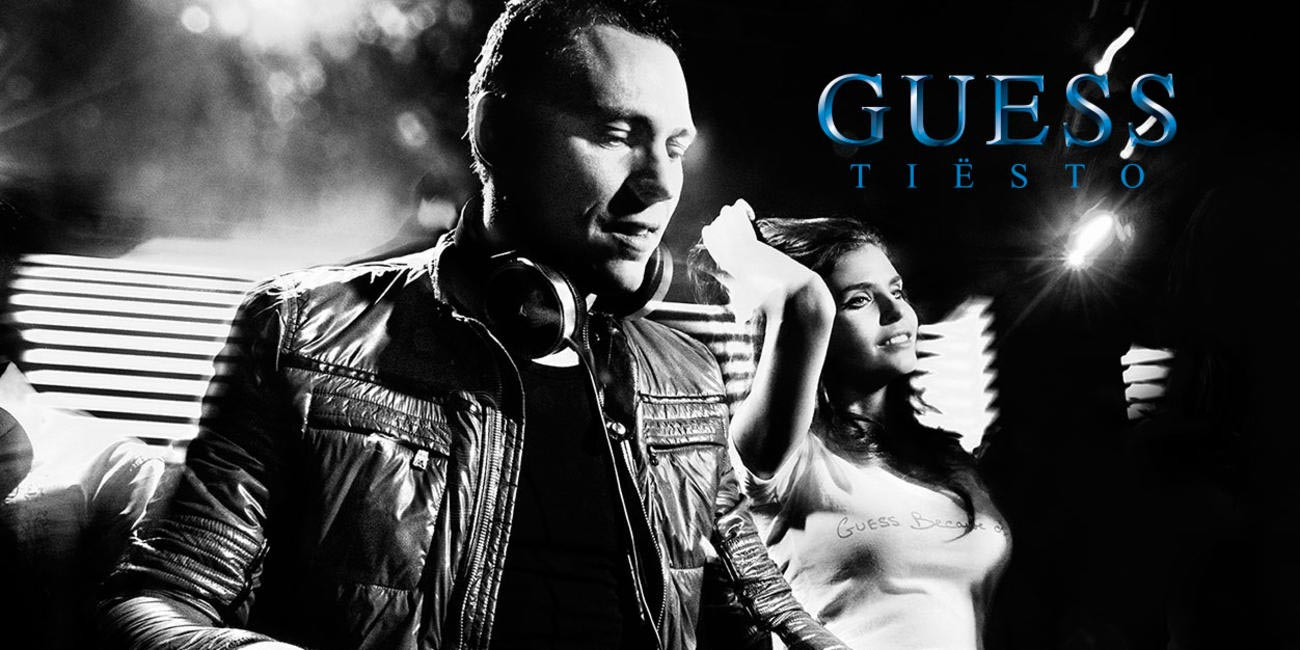 TIesto and Guess Collaboration. Picture Courtesy Tiesto FB page