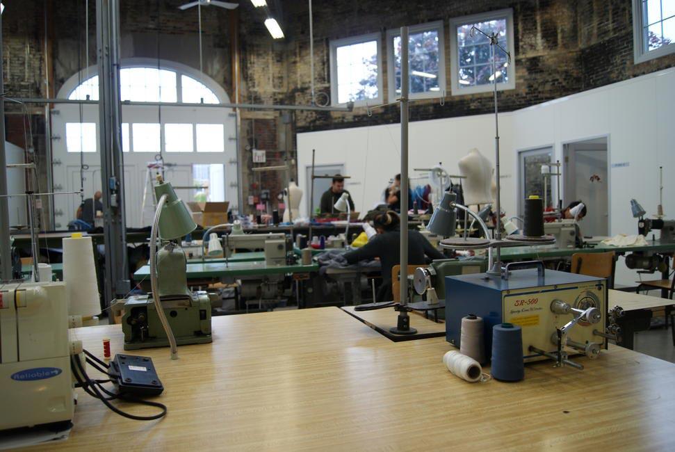 Toronto Fashion Incubator, Designer studio and workshop space