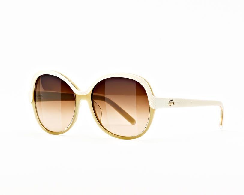 Two-tone sunglasses, Lacoste