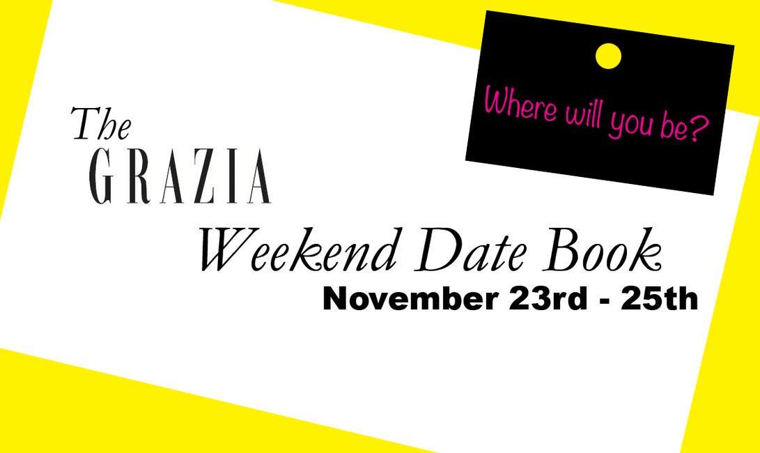 Weekend Datebook template