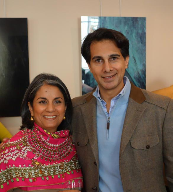 Amin Jaffer and Chandrika Pathak