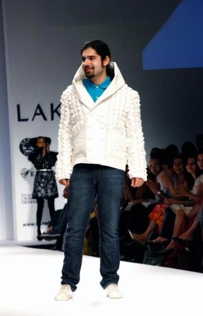 Anand Bhushan, Picture Courtesy Lakme Fashion Week