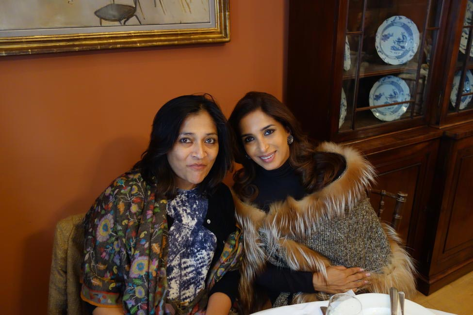 Asha Khilnani and Guest
