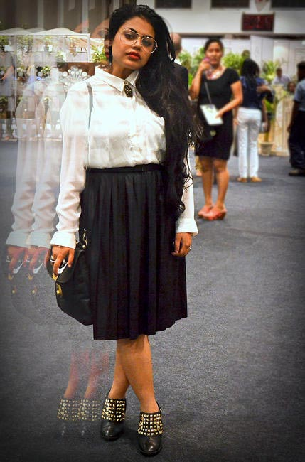 At Wills India Fashion Week, Picture Courtesy Surbhi Sethi of Head Tilt