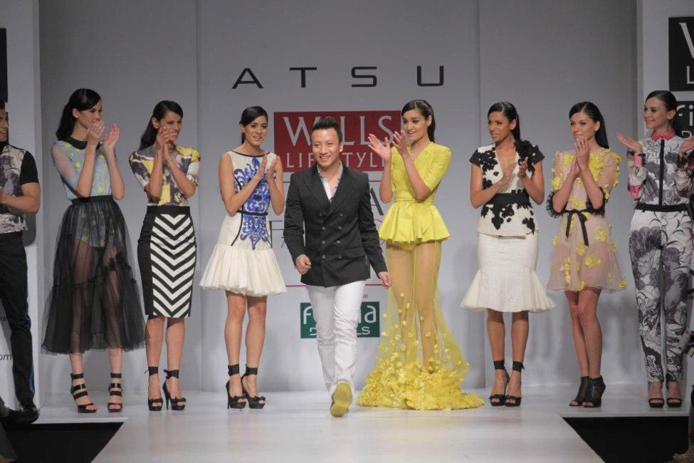Atsu, Picture Courtesy Wills India Fashion Week