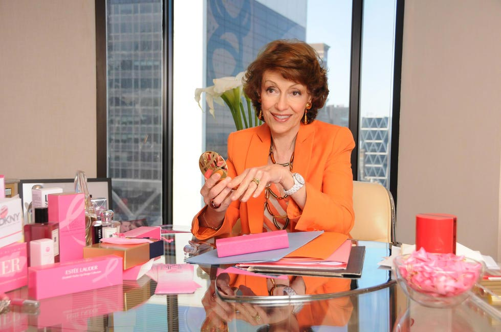 BCA Campaign Founder and Co-Creator of the Pink Ribbon, Mrs Evelyn H. Lauder, Photo by Rob Rich (2009), Picture Courtesy Estee Lauder