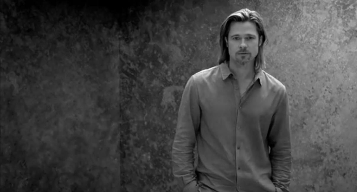 Brad Pitt for Chanel No.5, still from video