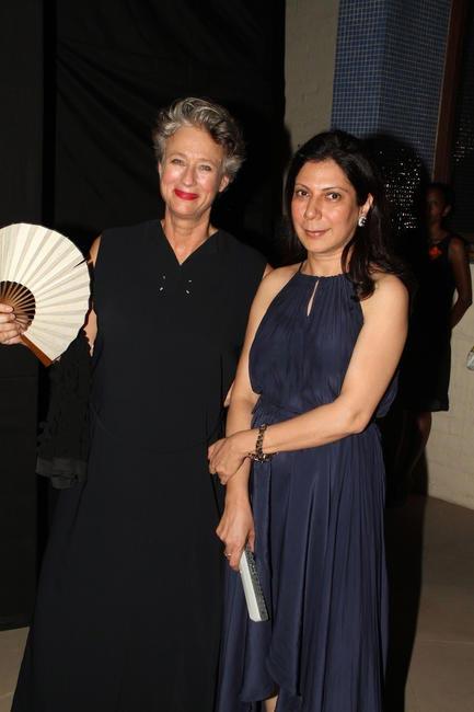Christine with Harmeet Bajaj