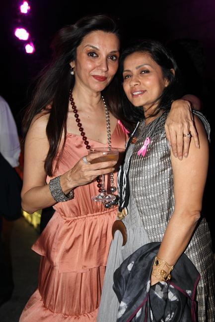 Lillette Dubey with Sangita Kathiawada