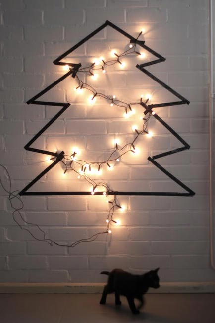 Love Aesthetics Christmas tree DIY, Picture Courtesy Ivania Carpio