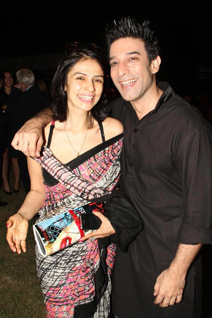 Mamta Malhotra with Suneet Varma