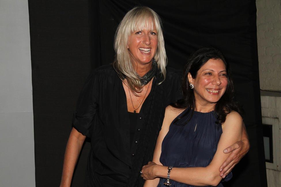 Mariete Hoitink with Harmeet Bajaj