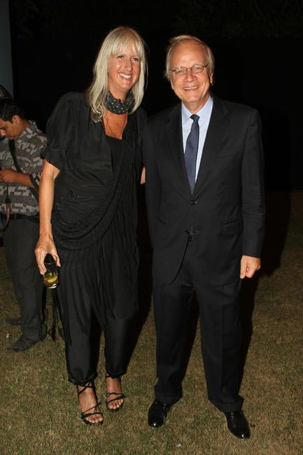 Mariette Hoitink with Alphonsus Stoelinga, Ambassadorof The Netherlands
