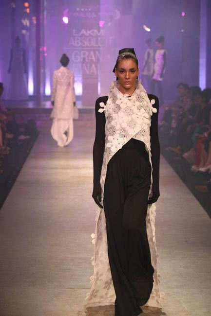 Pankaj & Nidhi, Winter Festive 2012, Picture Courtesy Lakme Fashion Week